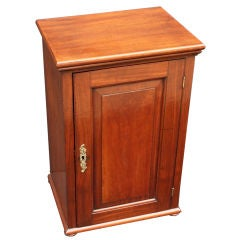 Butler's Tidy or Fitted Cupboard of Mahogany