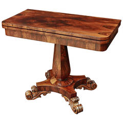 English Games Table of Rosewood