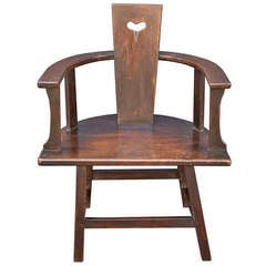 Arts and Crafts Armchair of Oak