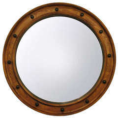 Large English Convex Mirror