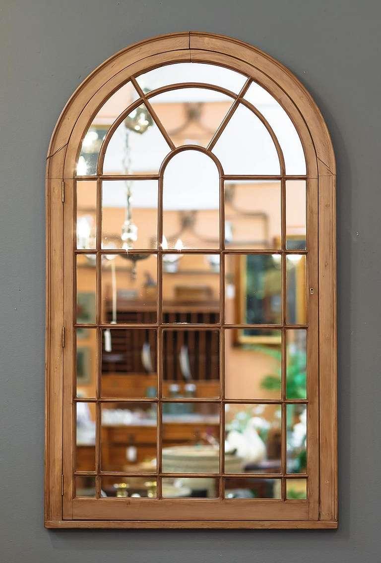 large georgian arched window pane mirrors h 49 34 x w 28 1