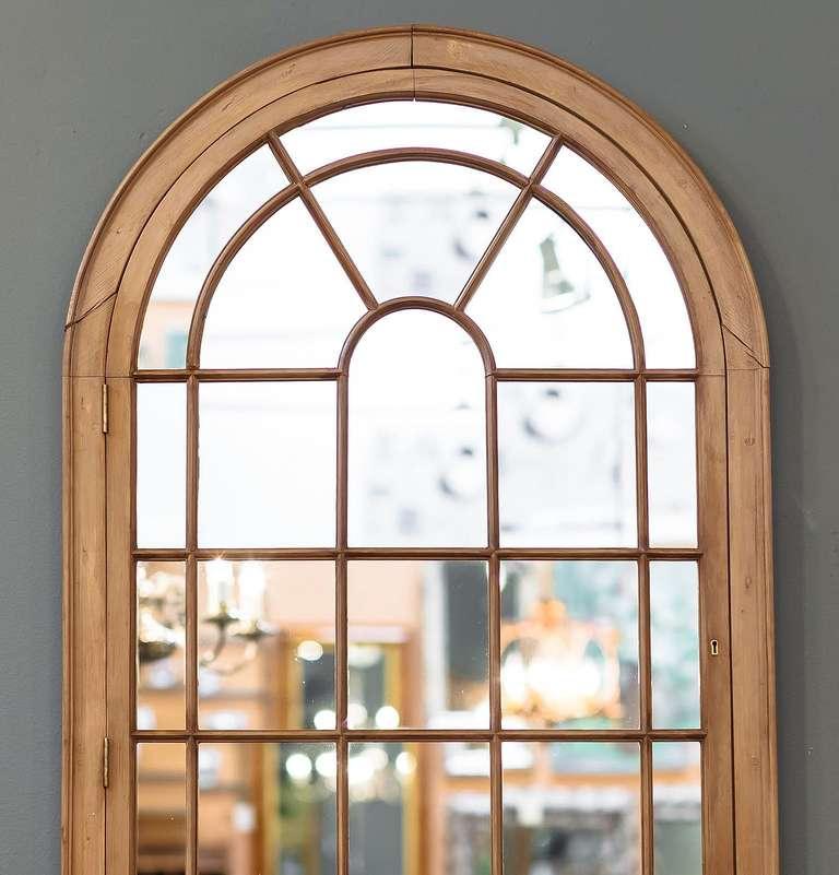 Large Georgian Arched Window Pane Mirrors H 49 3 4 X W 28