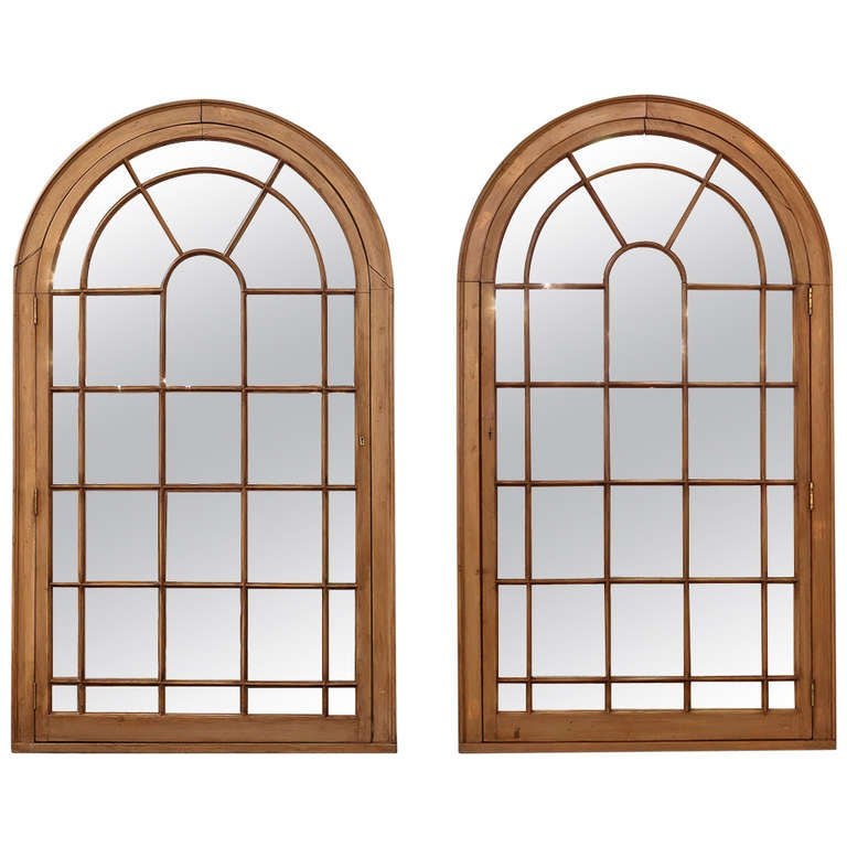 Large georgian arched window pane mirrors h 49 34 x w 28 12 at large georgian arched window pane mirrors h 49 34 x w 28 1 teraionfo