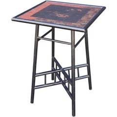 Japan-Lacquered Table from Arts & Crafts-Era, England
