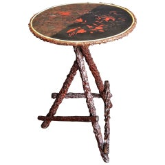 English Briar Wood Occasional Table