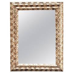 Large Rectangular Oyster Stick Mirrors (H 42 x W 32)