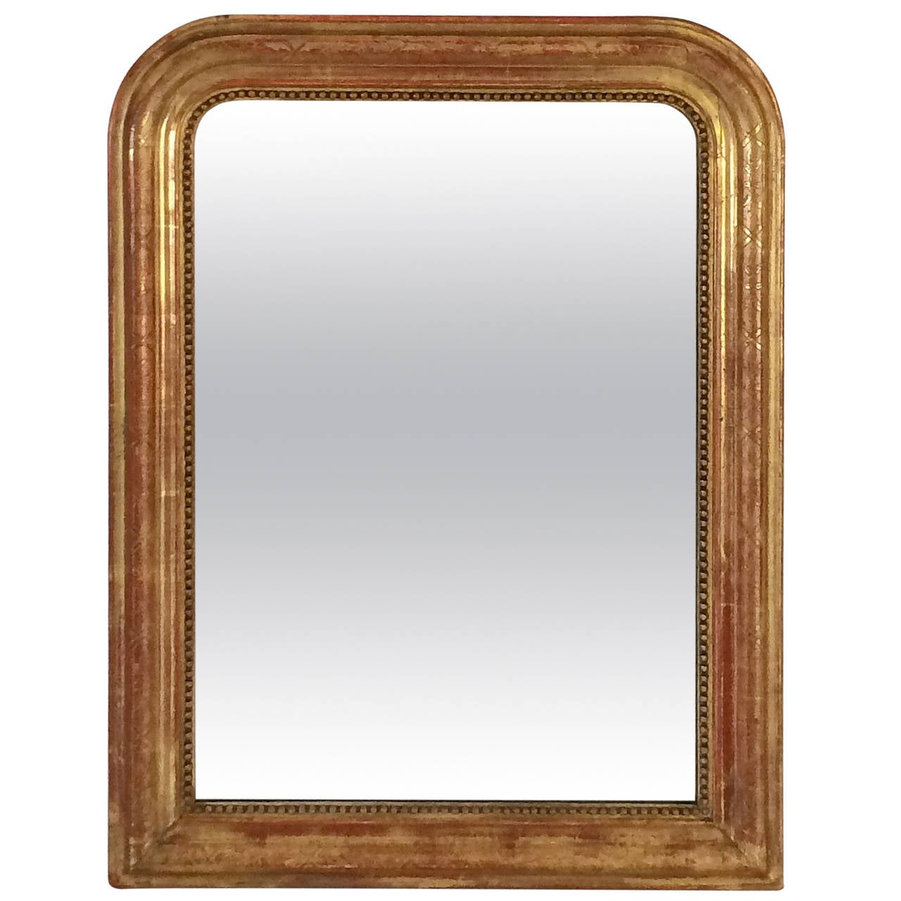 Louis philippe gilt mirror at 1stdibs for What is a gilt mirror