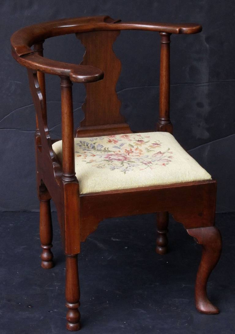 English Corner Chair from the Georgian Era 6