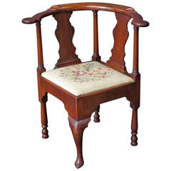 English Corner Chair from the Georgian Era