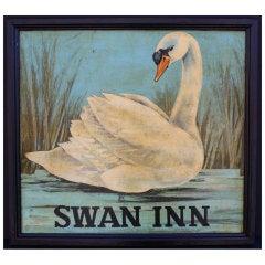 English Pub Sign - Swan Inn