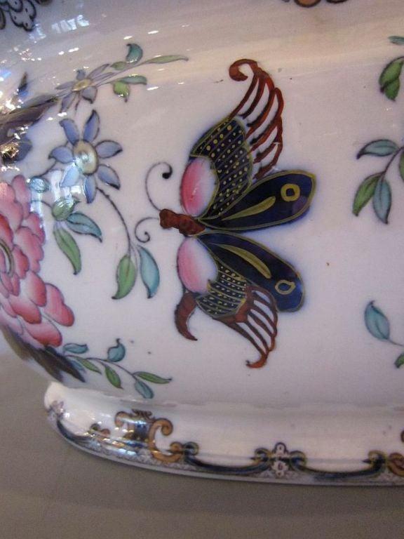 Ceramic English Footbath by Charles Meigh For Sale
