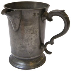 English Pewter Tankard or Flagon