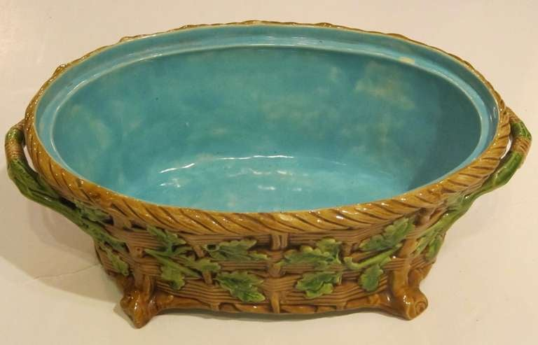 English Majolica Game Pie Tureen by Minton For Sale 1