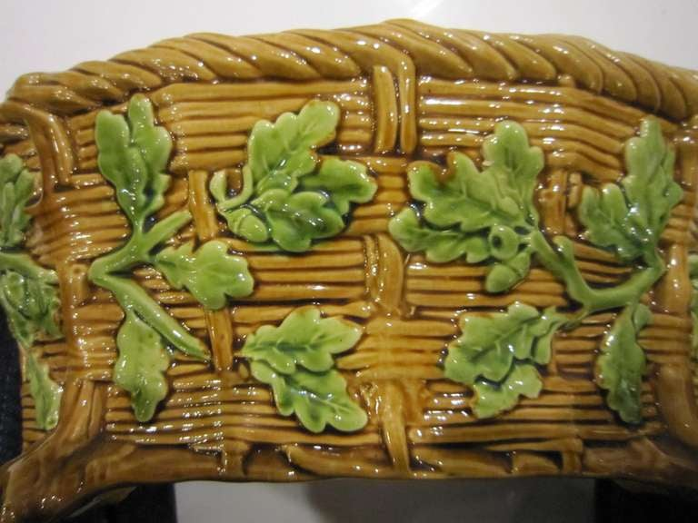 English Majolica Game Pie Tureen by Minton For Sale 2