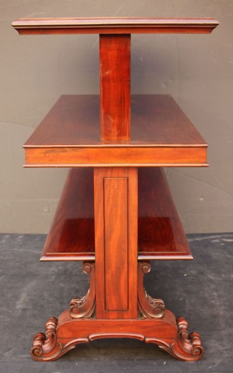 English Telescoping Buffet Server or Table in Mahogany For Sale 3