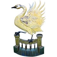 English Pub Sign - The Swan