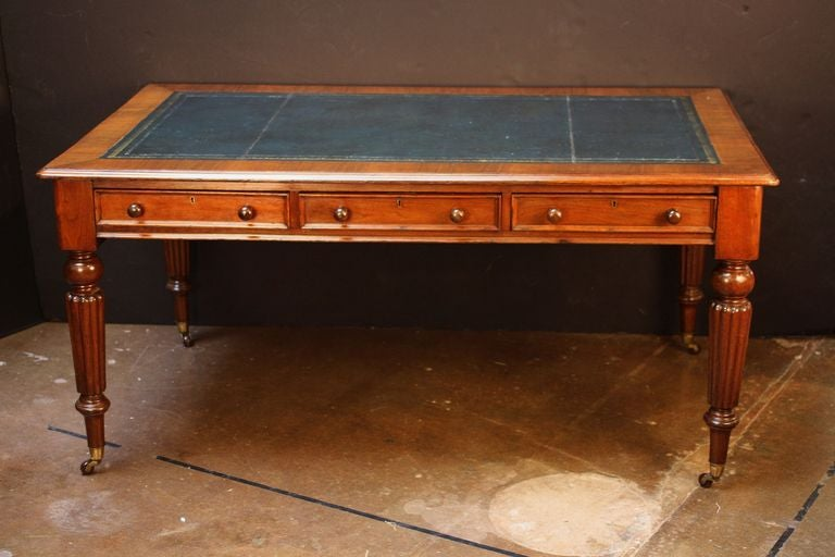 English Partner S Writing Desk Or Library Table With