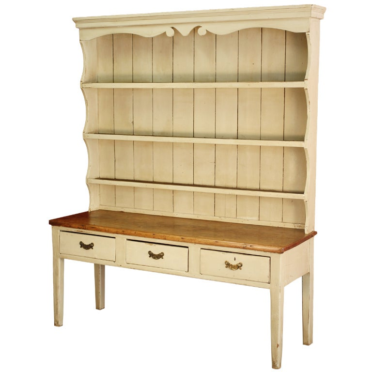 English country painted pine dresser at 1stdibs for English country furniture