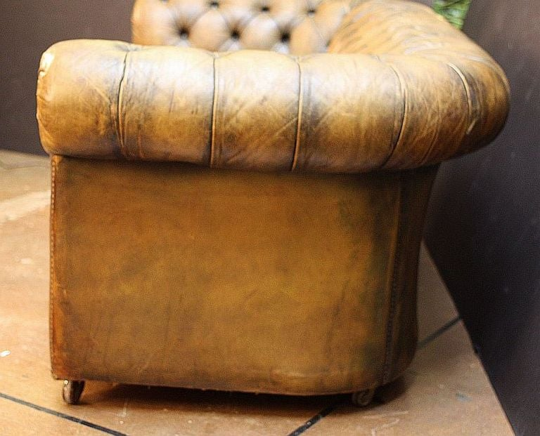 English Chesterfield Sofa At 1stdibs