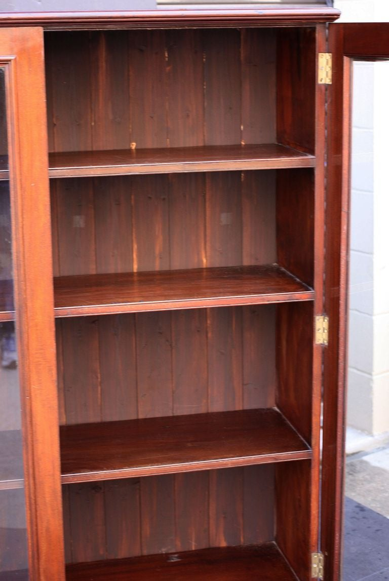 English Bookcase Of Mahogany For Sale At 1stdibs