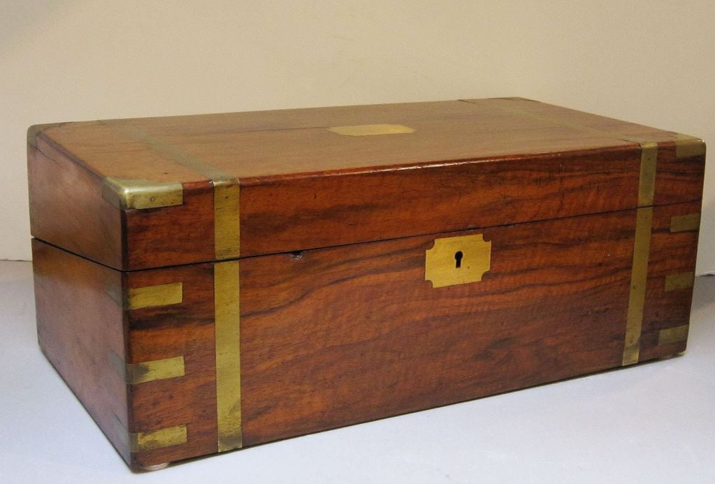 English writing box with secret compartment at 1stdibs Secret drawer