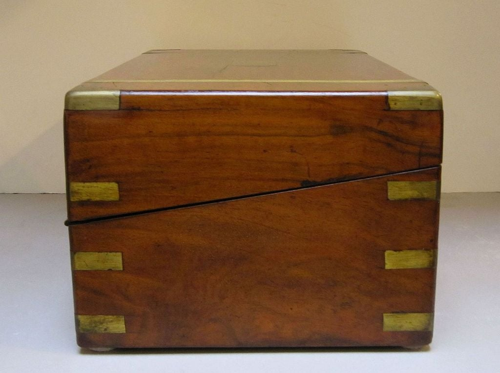 English Writing Box With Secret Compartment At 1stdibs