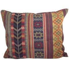Pillow Made of Swedish 19th Century Fabric