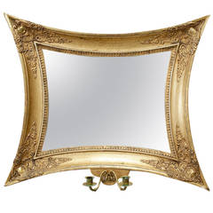 Later Empire Mirrored Wall Sconce