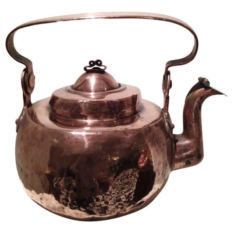 18th Century Swedish Copper Pot 1