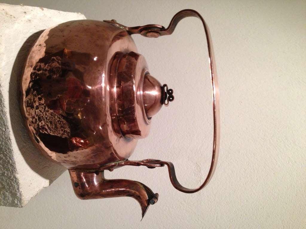 18th Century Swedish Copper Pot 2