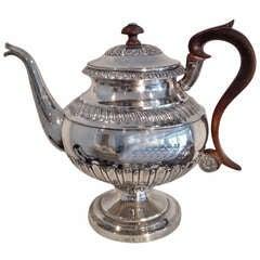 Neoclassical Silver Coffee Pot