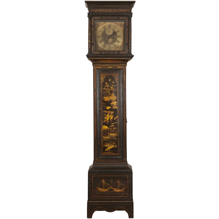 Tall Grandfathers Clock For Sale At 1stdibs