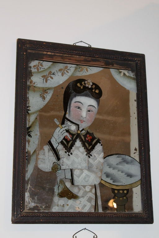 Pair of Paintings 18th Century China 4