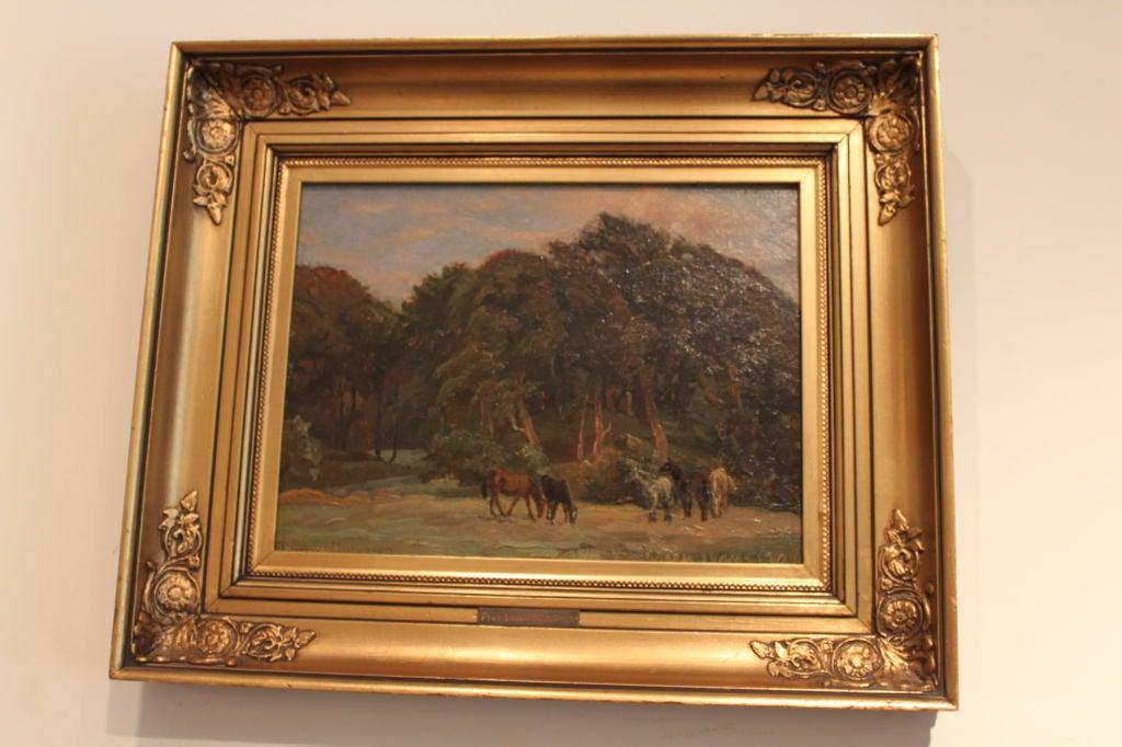 Danish Landscape Painting Viggo Pedersen (1854-1926) 2