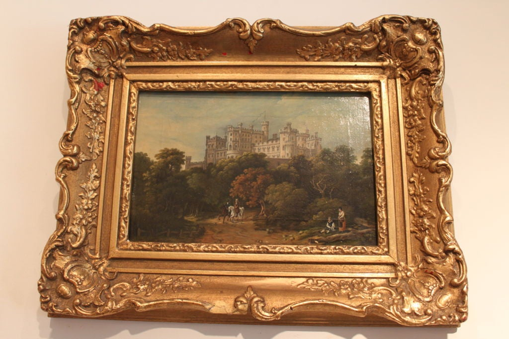 English Landscape Painting In Good Condition For Sale In New York, NY