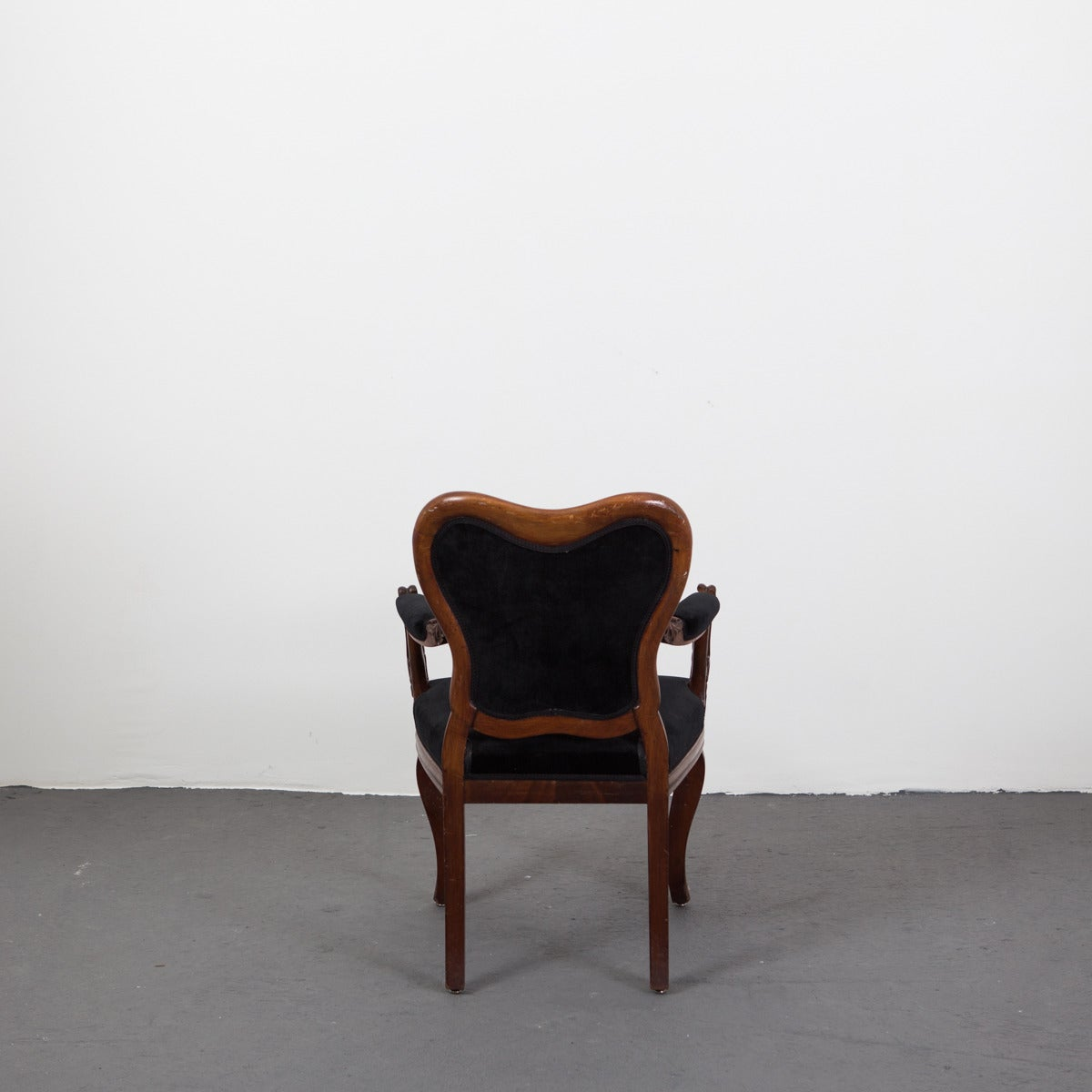 Pair of rococo style arm chairs for sale at 1stdibs for Rococo style furniture
