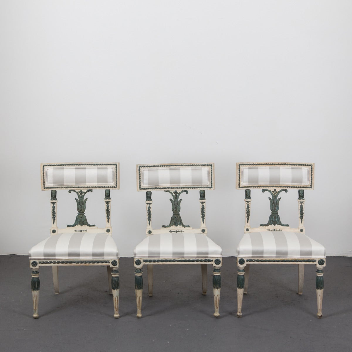 set of 10 swedish neoclassical dining chairs for sale at 1stdibs