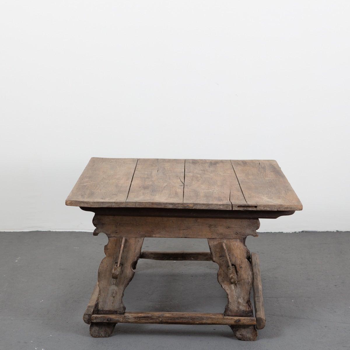 Swedish Trestle Coffee Table For Sale At 1stdibs