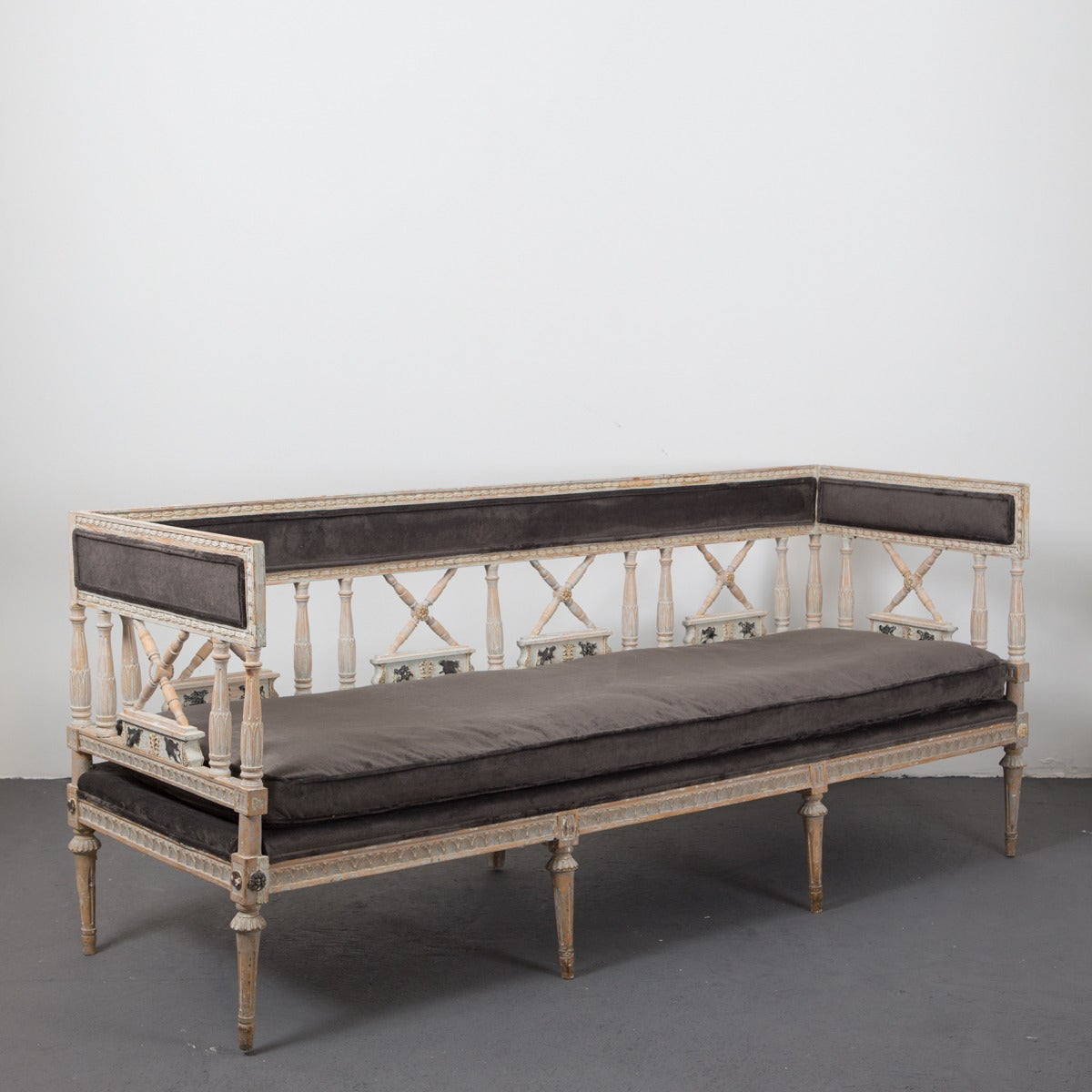 Neoclassical Sofa Bench For Sale At 1stdibs