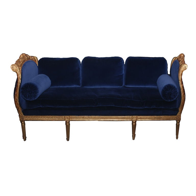 Swedish High Gustavian Daybed