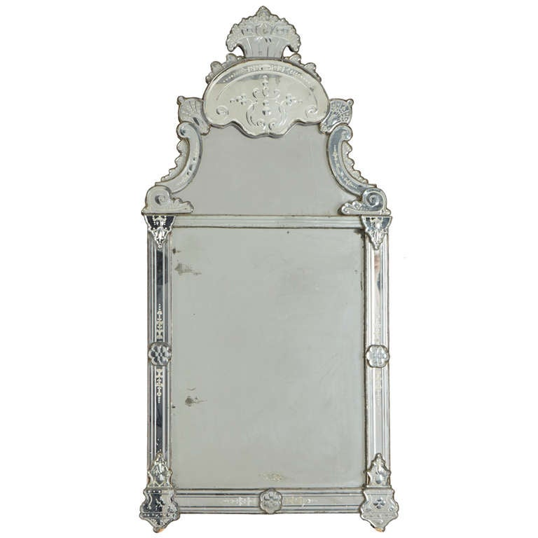 large venetian mirror 18th century at 1stdibs