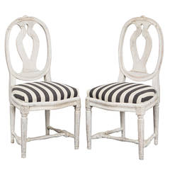 Chairs Side Chairs Swedish 18th Century Gustavian Period Sweden