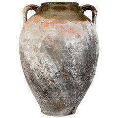 Semi Glazed Pottery urn