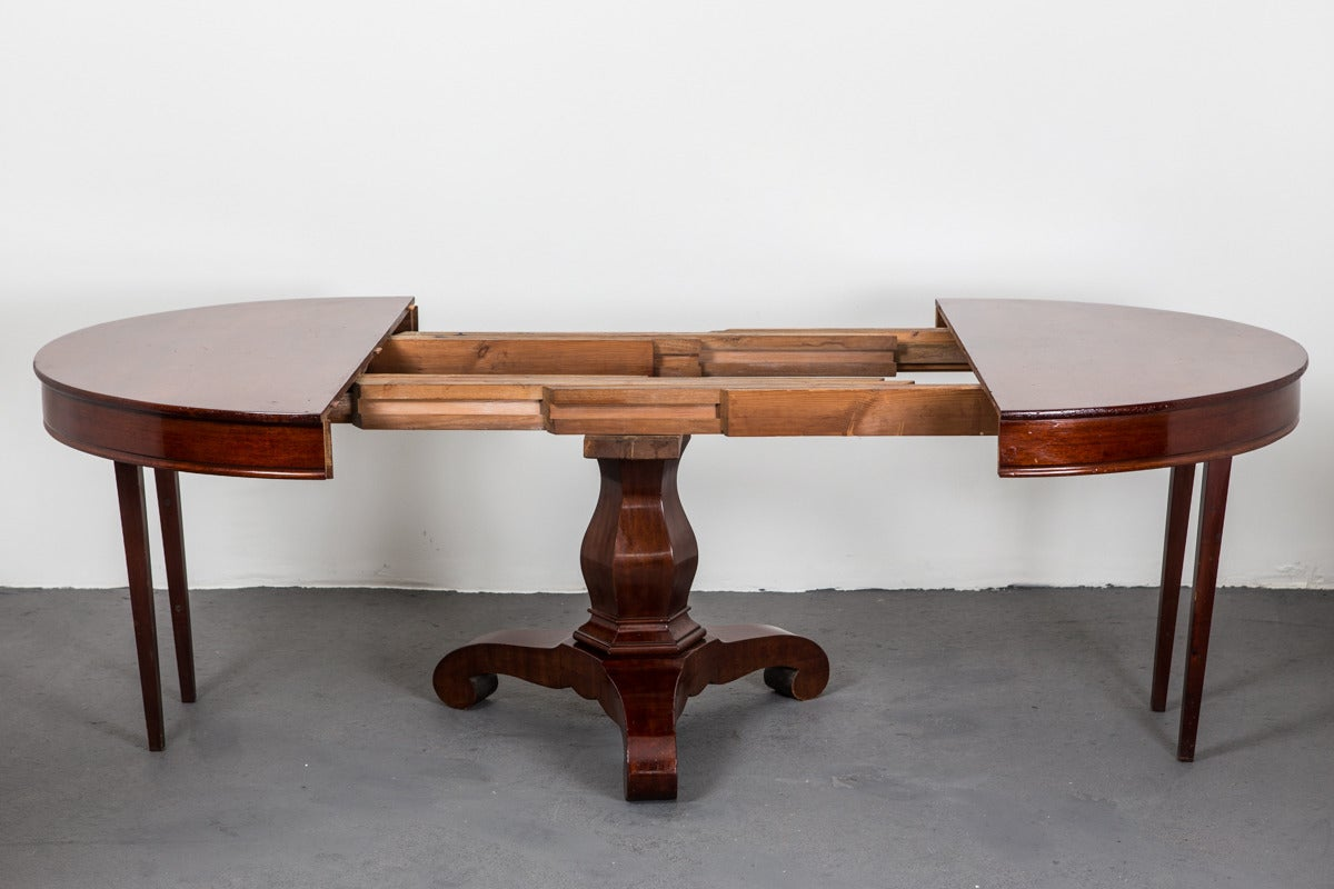 Swedish extendable dining room table for sale at 1stdibs - Extension tables dining room furniture ...