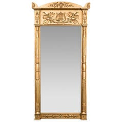 Swedish Neoclassical Mirror