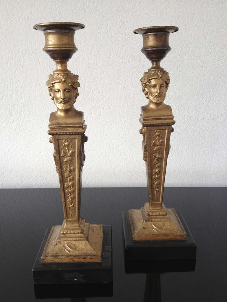 French Neoclassical Candlesticks 2