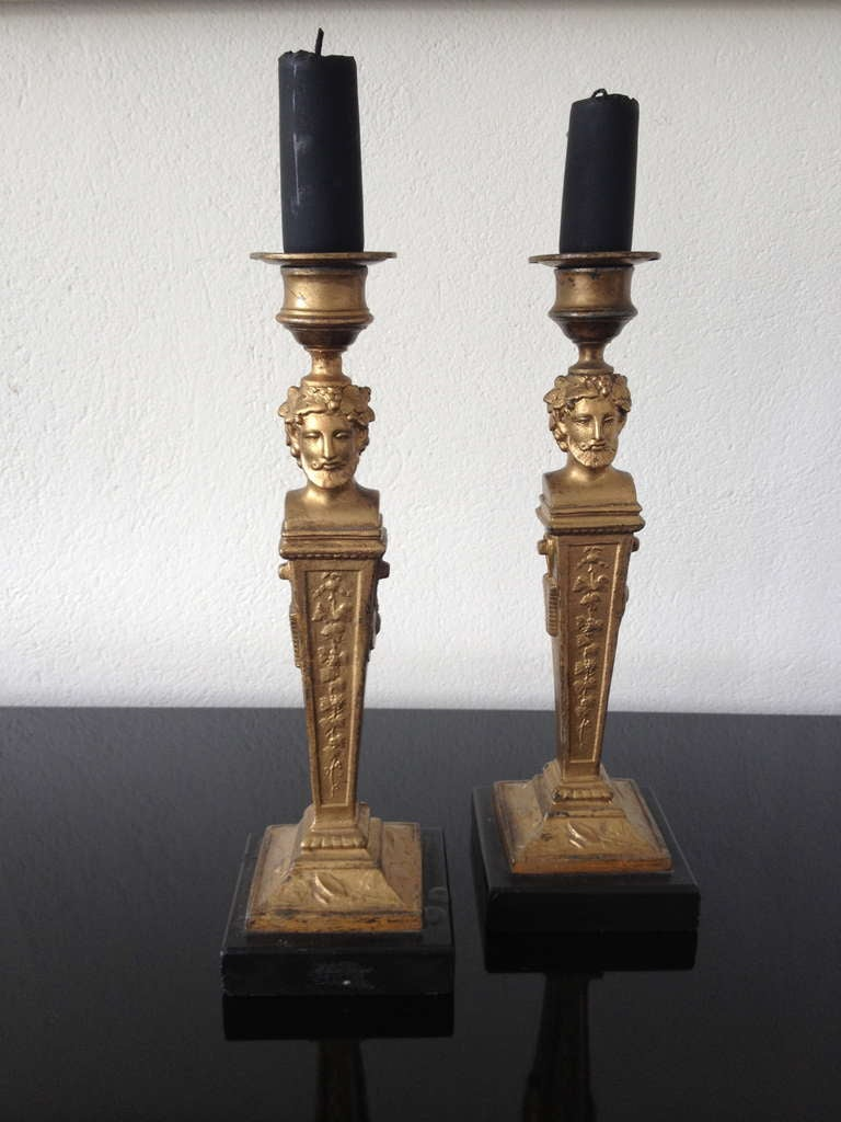 French Neoclassical Candlesticks 3