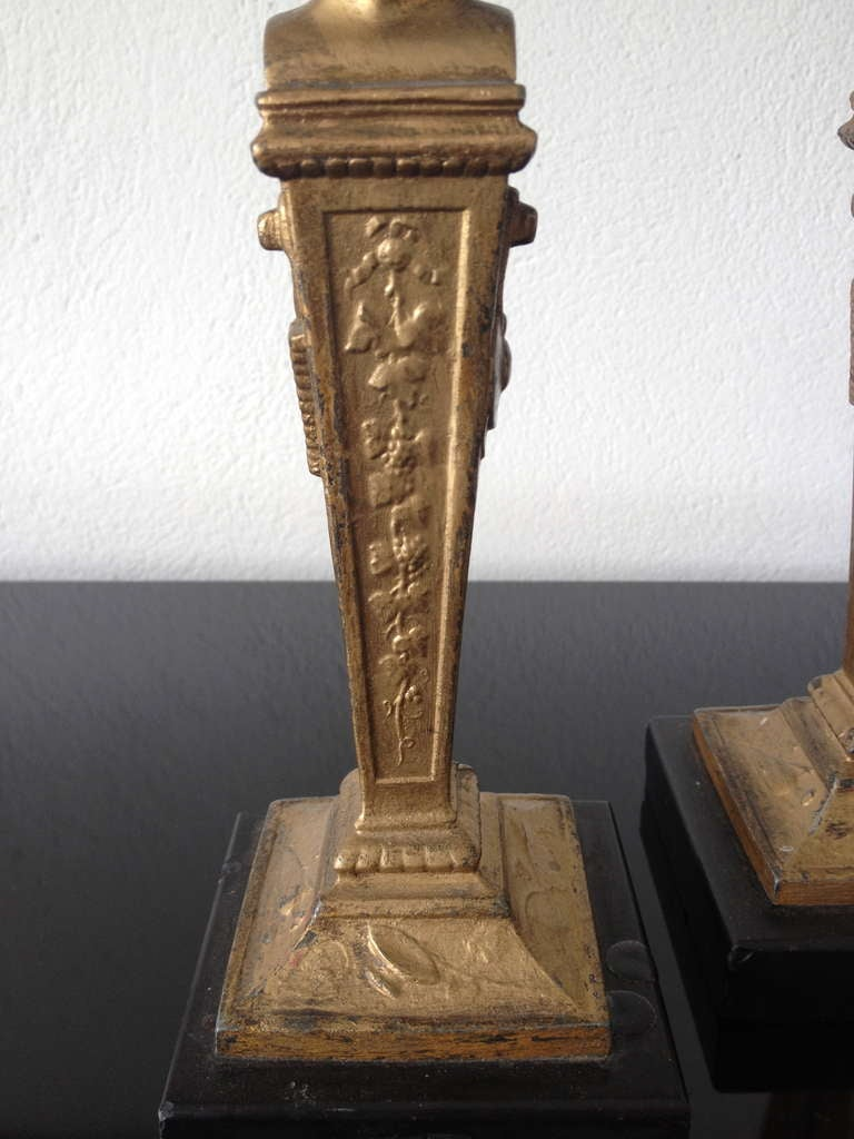 French Neoclassical Candlesticks 5