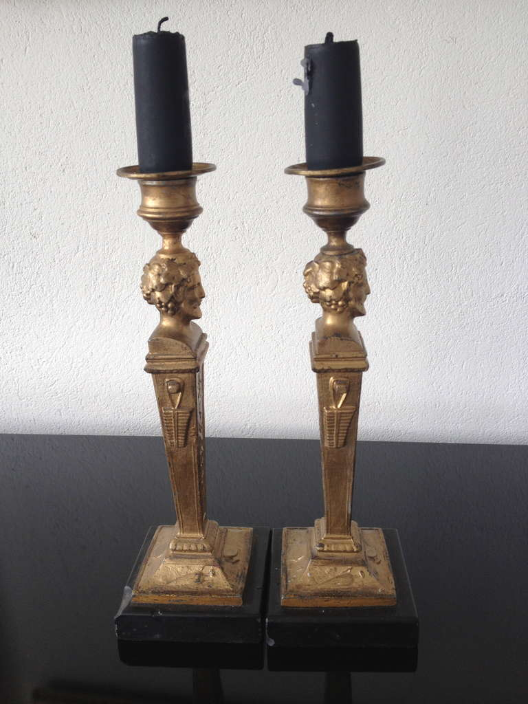 French Neoclassical Candlesticks 7