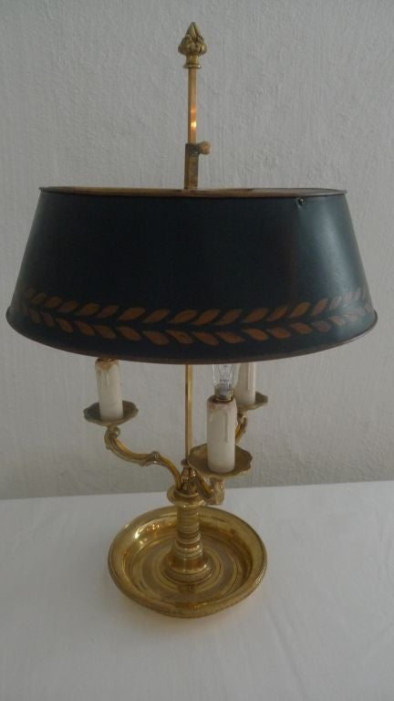 Bouillotte Lamp 19th Century 2